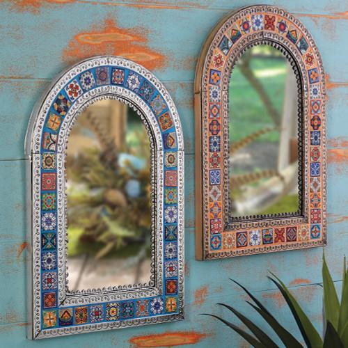 Southwest Talavera Mirrors