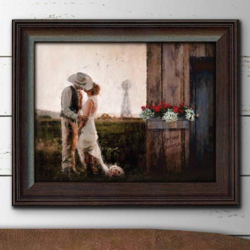 Prairie Romance Framed Prints