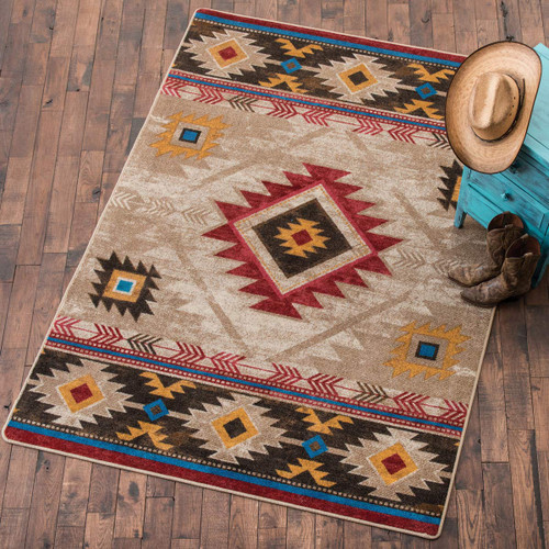 Whiskey River Natural Rug Collection