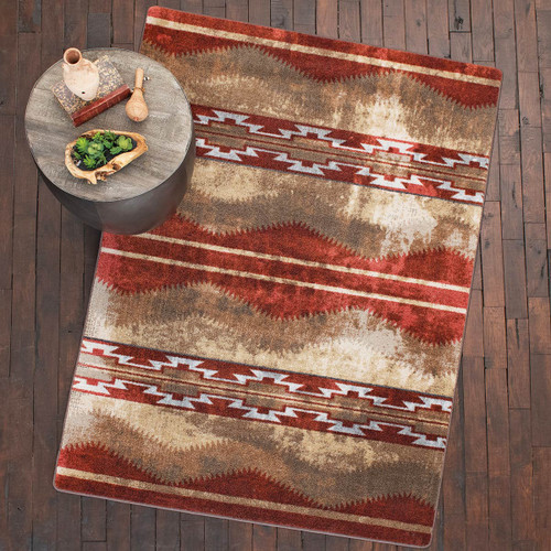 Red Canyon Rug Collection
