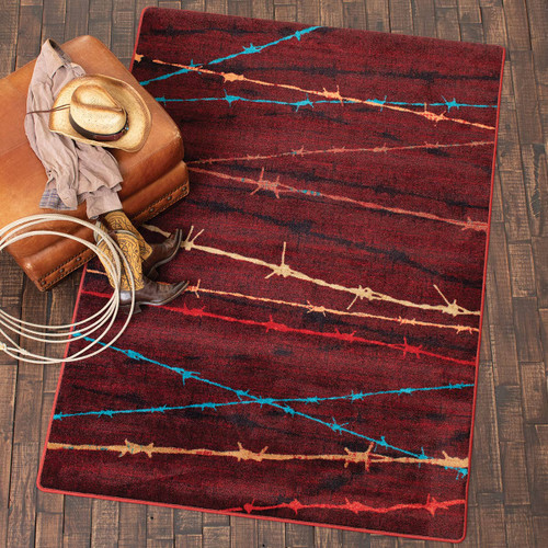 Barbwire Basin Rug Collection