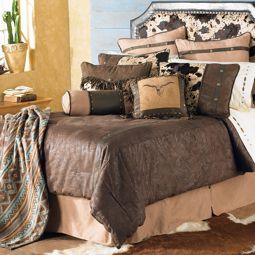 Caldwell Cowhide Bedding Collection