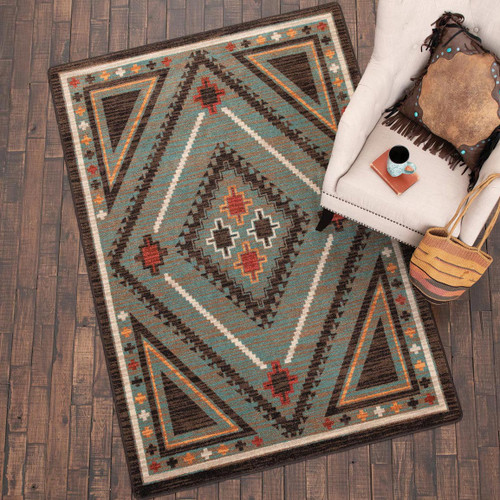 Dream Weaver Turquoise Rug Collection