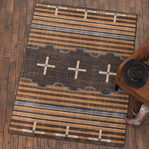 Three Chiefs Gray Rug Collection