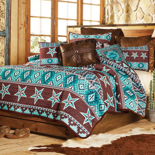 Southwest Star Quilt Bedding Collection - CLEARANC