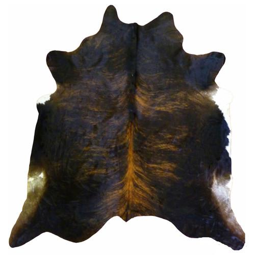 Black Brindle Cowhides