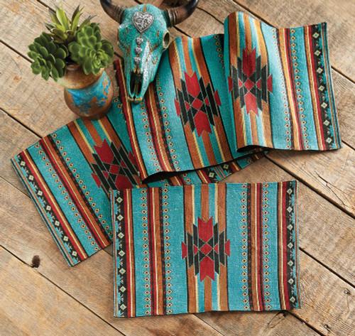 San Juan Turquoise Table Linens