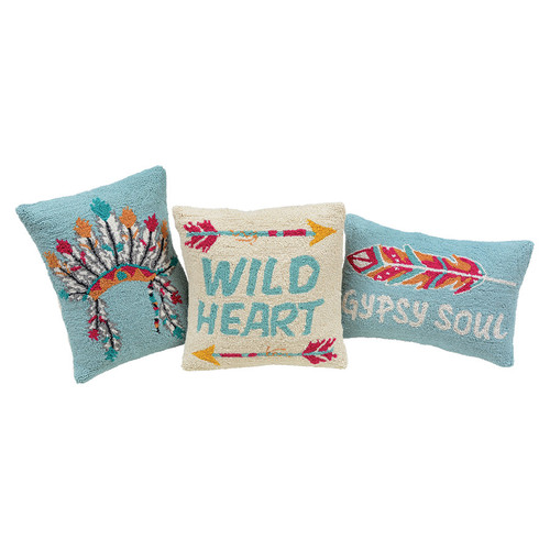 Southwest Hooked Pillows