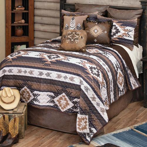 Diamond Mesa Quilt Bedding Collection