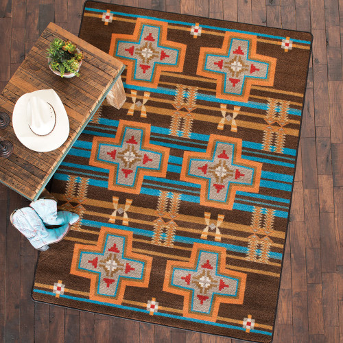 Grand River Desert Rust Rug Collection