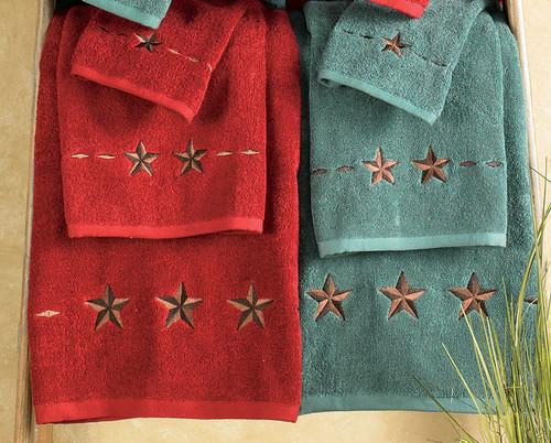 Star Towel Sets - 3 pcs