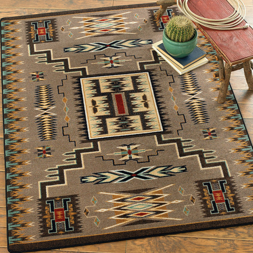 Vision Catcher Turquoise Rug Collection