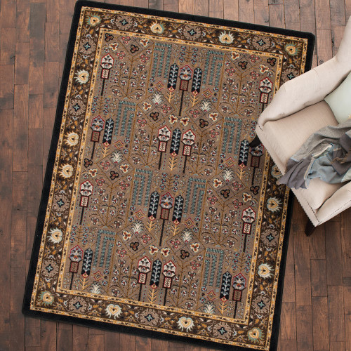 Turquoise Passage Rug Collection
