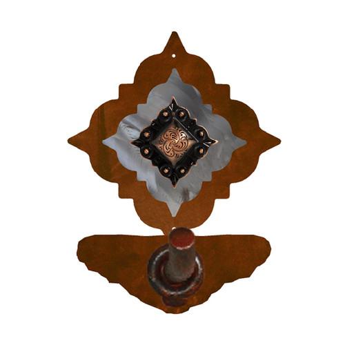 Diamond Copper Berry Metal Bath Hardware
