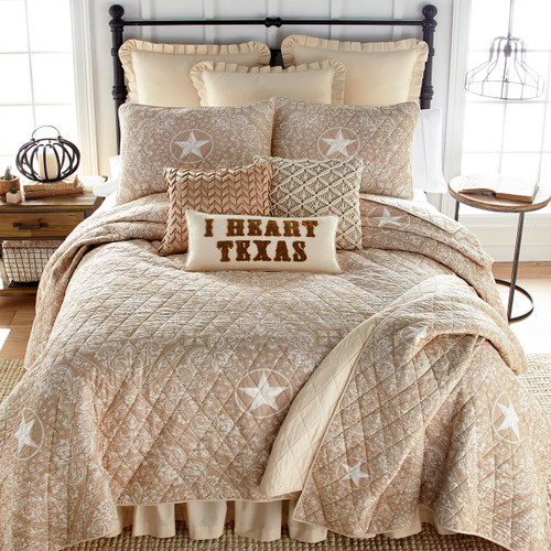 Lone Star Quilt Bedding Collection
