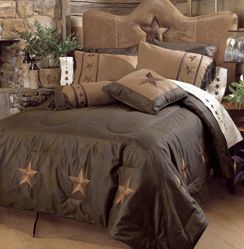 Laredo Chocolate Bedding Collection