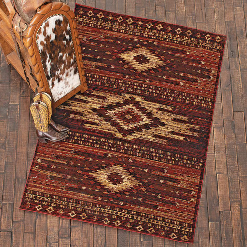 Three Spirits Red Rug Collection