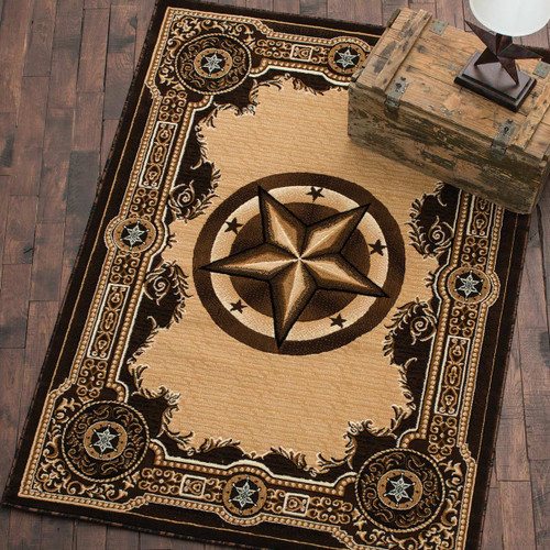 Western Star Chocolate Rug Collection