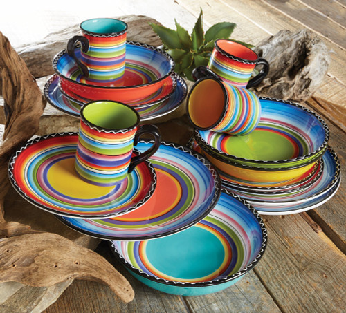 Tequila Sunrise Dinnerware Collection