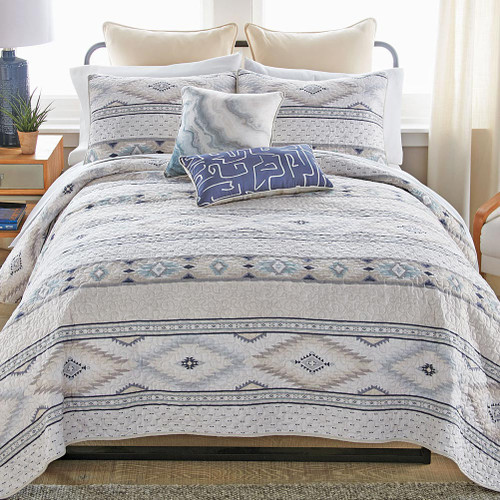Mesa Frost Quilt Bedding Collection