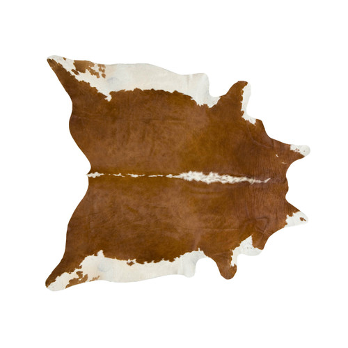 Brown and White Regular Cowhide Rugs