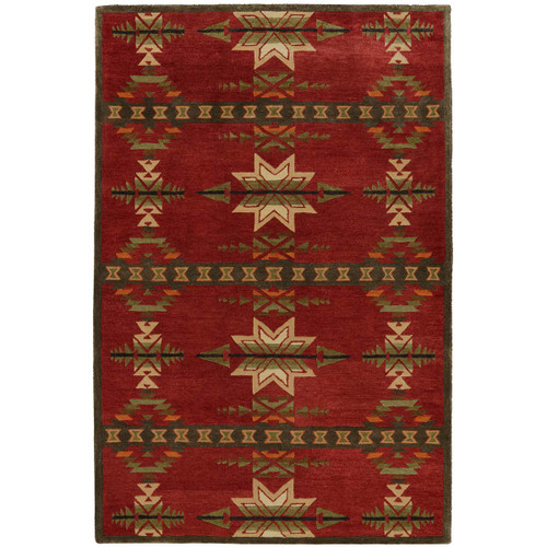 Gatekeeper Red Rug Collection