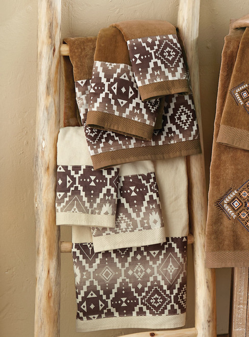 Durango Diamond Towel Sets