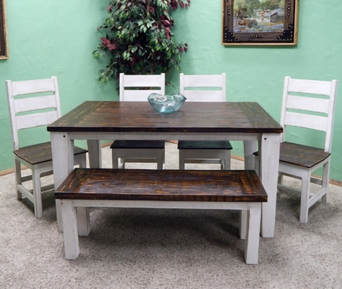 Friar Dining Collection - Weathered White