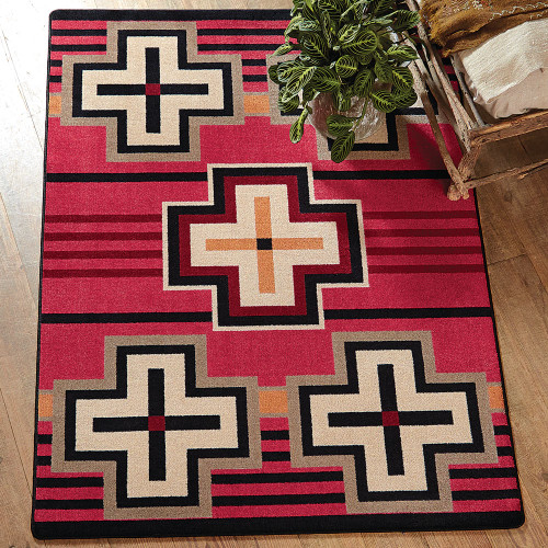 Bounty Red Southwestern Rug Collection