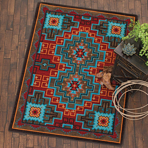Fire Dancers Rug Collection