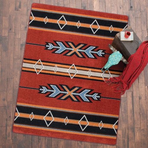 Tribal Fire Rug Collection