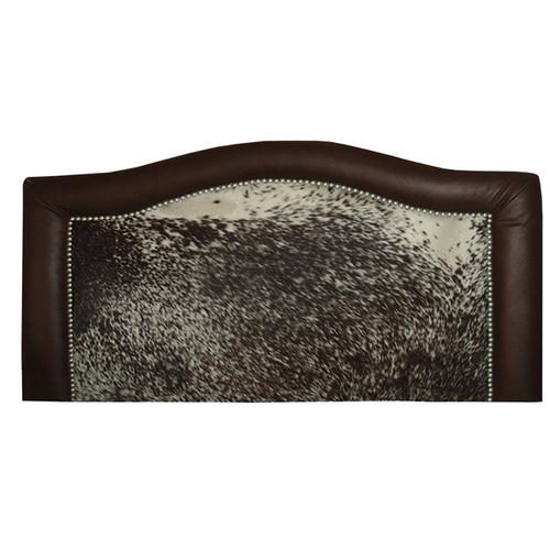 Ridge Speckled Hair-on-Hide Headboards