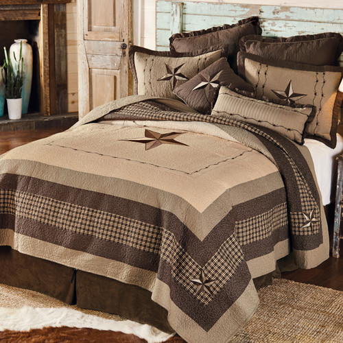 Stars and Plaid Quilt Collection