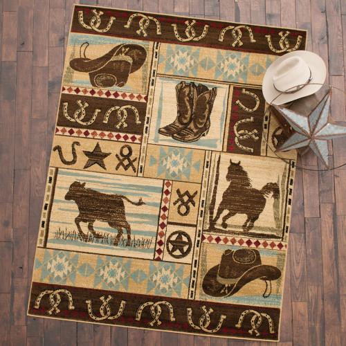 Wrangler Cowboy Rug Collection