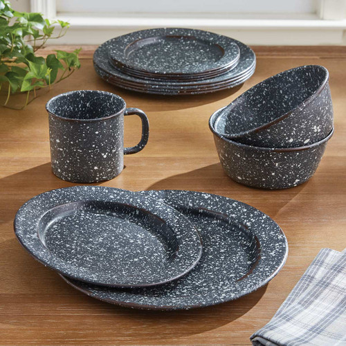 Lodge Gray Dinnerware Collection