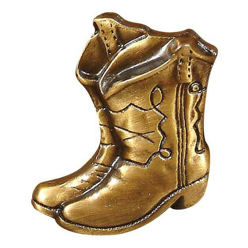 Boots Metal Cabinet Knob