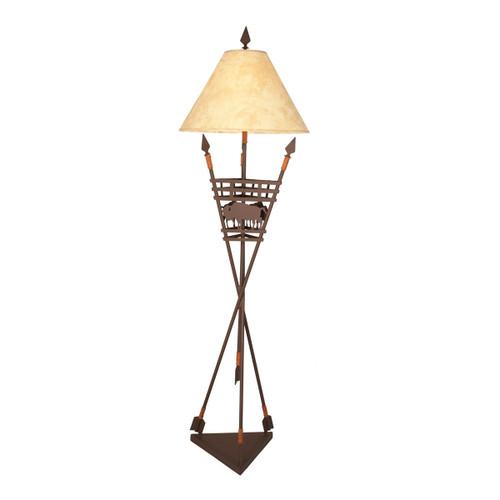 Great Plains Floor Lamp - Mountain Brown