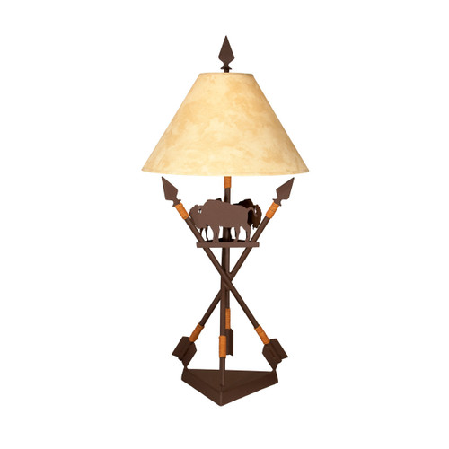Great Plains Table Lamp - Mountain Brown