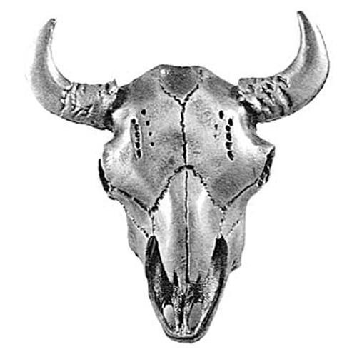 Buffalo Skull Cabinet Knob