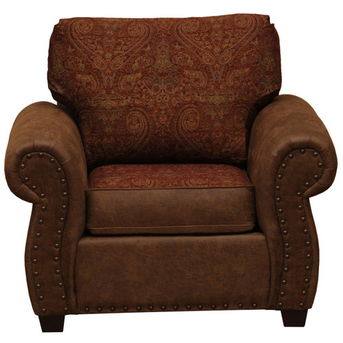 Burly Upholstered Lounge Chair