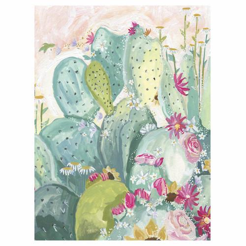 Cactus Bouquet Canvas Art