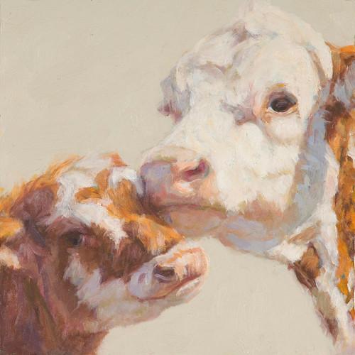 Dorothy's Calf Canvas Art