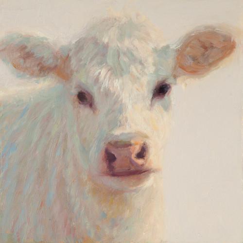 Ella the Cow Canvas Art