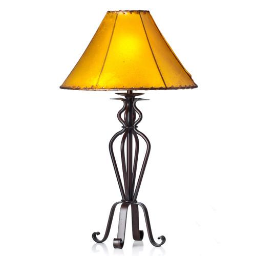 Four Legged Iron Table Lamp