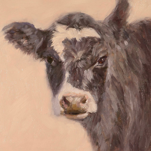 Mable the Cow Canvas Art