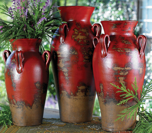 Fairhaven Pottery Vases (Set of 3)