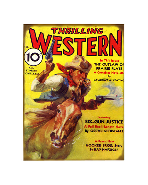 Thrilling Western Sign