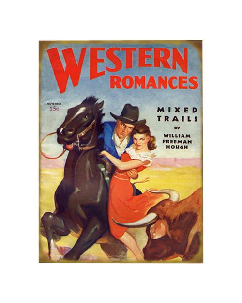 Western Romances Sign