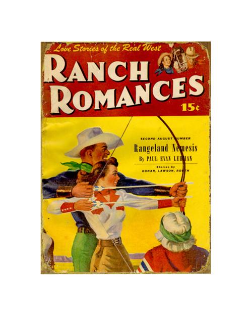 Ranch Romances Sign