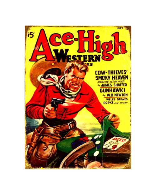 Ace-High Western Sign